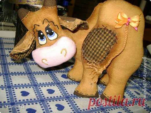 We sew - the Ridiculous cow - M. K.   the Country of Masters