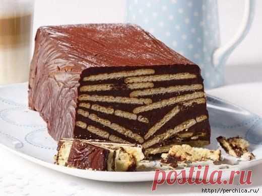 *Kalter Hund*- вкусный десерт без выпечки немецкой кухни.