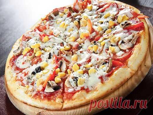 Пицца - 3 варианта теста и 7 начинок