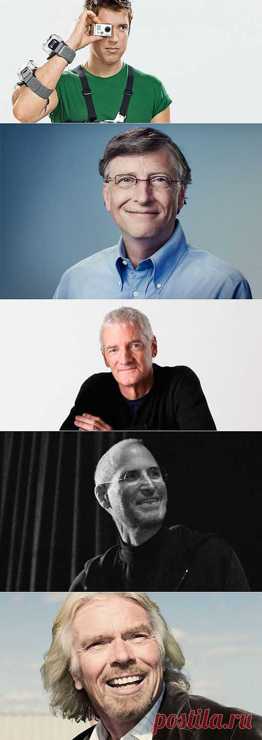 5 неудачников, которые стали миллиардерами | Лайфхакер