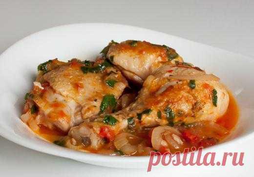 Пошаговый фото-рецепт чахохбили из курицы | Вторые блюда | Вкусный блог - рецепты под настроение