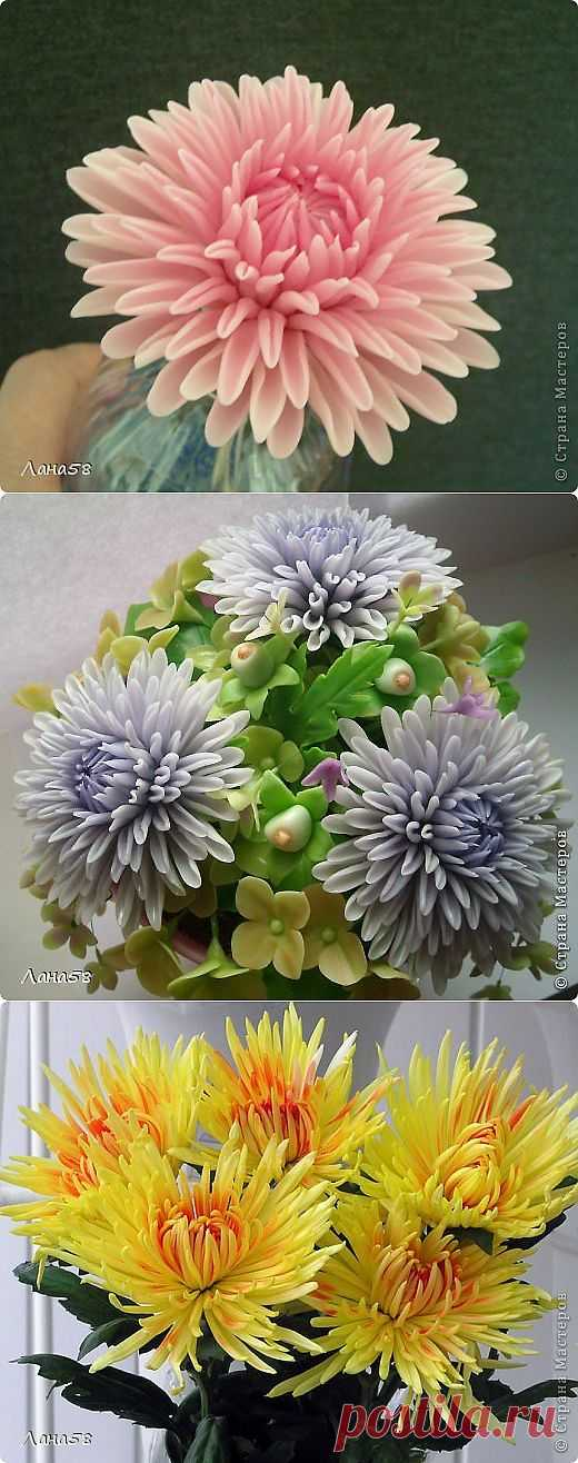 Pass MK on a molding of petals of a chrysanthemum.