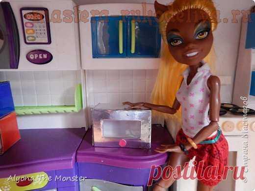 Мастер-класс: Кукольная кухня. Выпуск 4 - делаем микроволновку