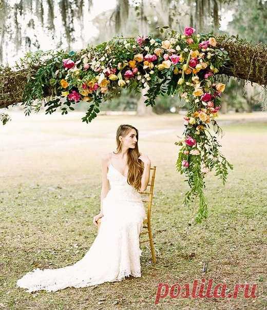 🌺 Как вам такая идея для церемонии? 🌺 #weddywood_опрос