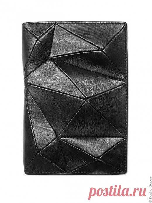 Обложка для паспорта Даша Гаузер / Кожа / Модный сайт о стильной переделке одежды и интерьера