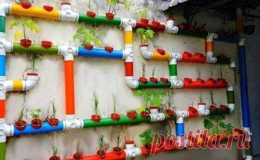 Полезные вещи для дома и дачи из пластиковых труб