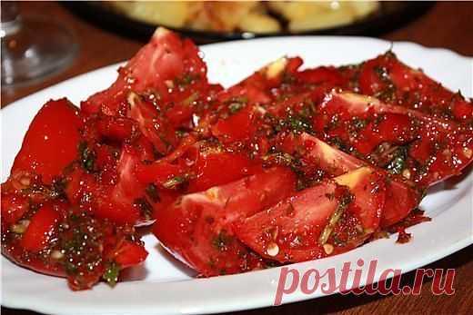 Блоги@Mail.Ru: Вкусная закуска из помидоров