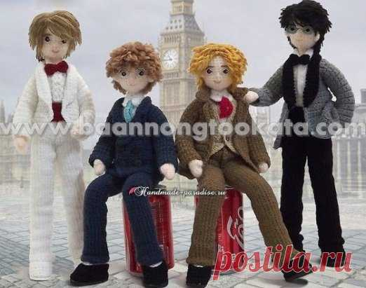 Мальчишки-стиляги! Идеальные партнеры для дочкиных Барби ;) Описание: http://handmade-paradise.ru/st... ...#ОписаниеИгрушек_Куклы