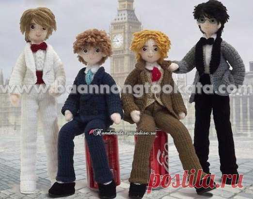 Boys dandies! Ideal partners for daughter's Barbie ;)\u000aDescription:\u000ahttp:\/\/handmade-paradise.ru\/st...\u000a...#ОписаниеИгрушек_Куклы