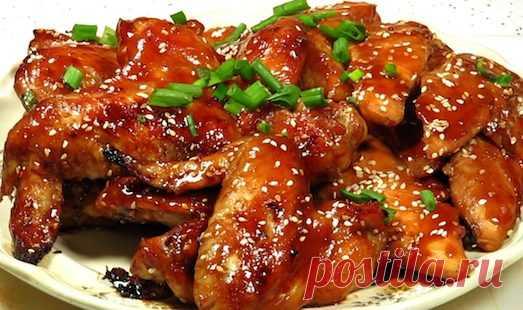 Сочная и пикантная курица терияки   Вкусные рецепты