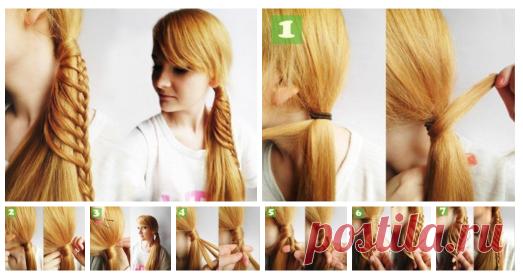 Плетём оригинальную косу