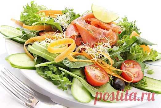 7 вкусных салатов для похудения   Диеты со всего света