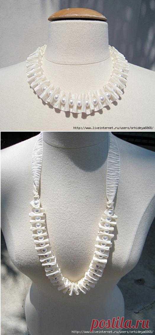 Изящное ожерелье