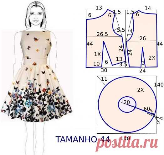 92a7ecc619e Как сшить летнее платье своими руками