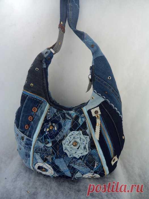 8a72defdb3d7 Самая большая коллекция идей джинсовых сумок | Выкройки и идеи сумок ...