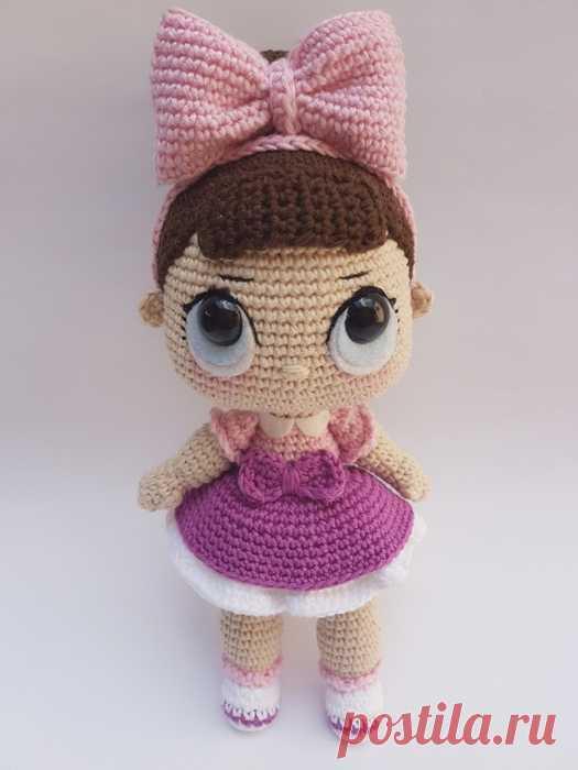 Кукла ЛОЛ   амигуруми   Постила