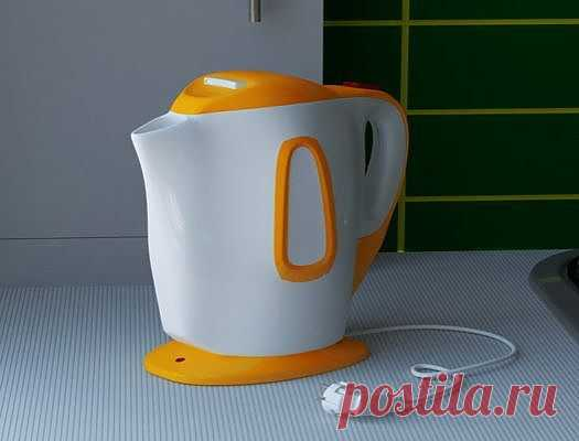 Как отмыть накипь в чайнике