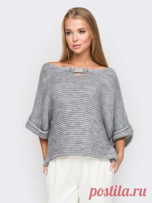 Стильный пуловер для женщин