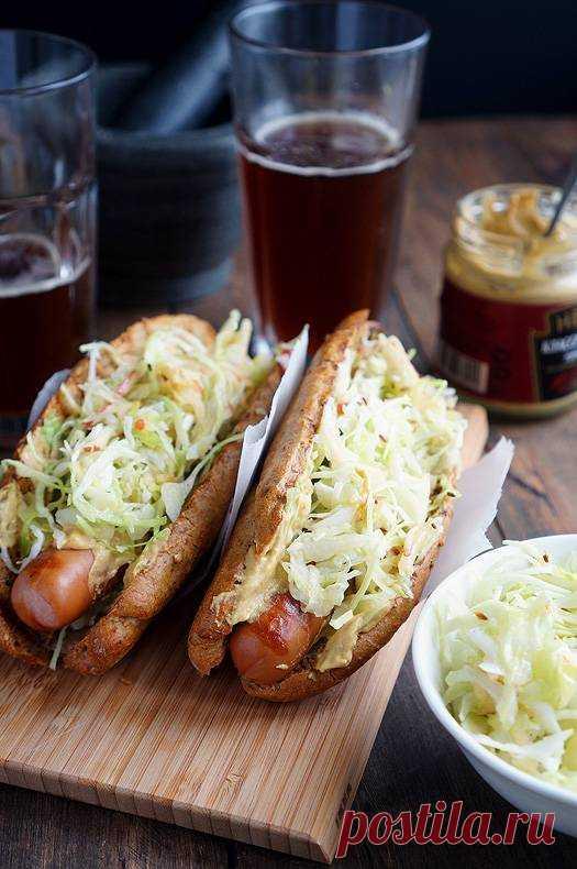 Хот-доги с фирменной начинкой | Andy Chef (Энди Шеф) — блог о еде и путешествиях, пошаговые рецепты, интернет-магазин для кондитеров |