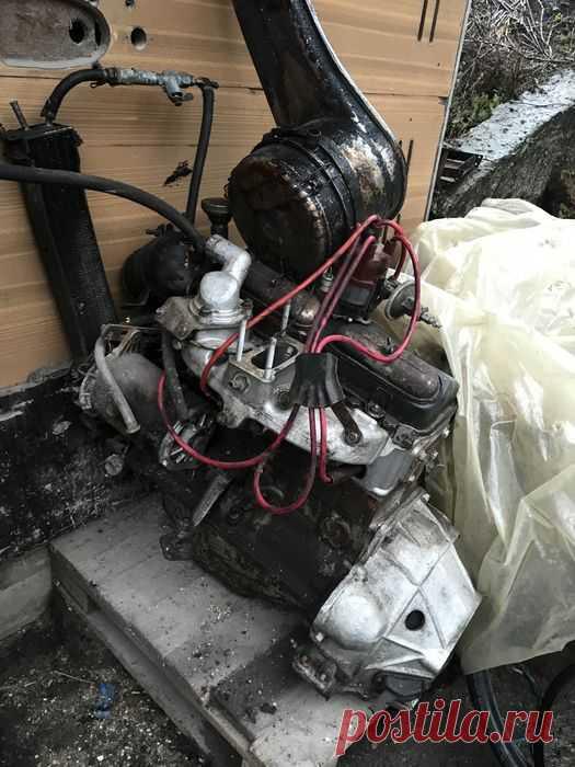 Мотор , двигатель на москвич 408: 1 500 грн. - Автозапчасти Бахмач на Olx