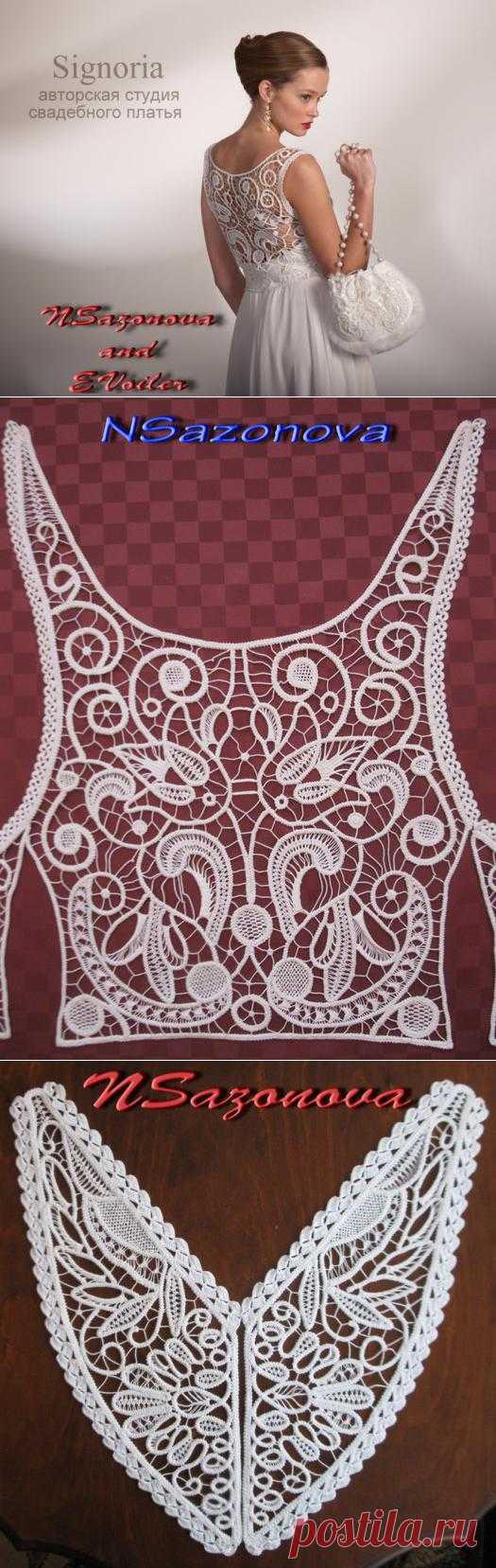 Блоги@Mail.Ru: Свадебные платья и румынское кружево Натальи Сазоновой