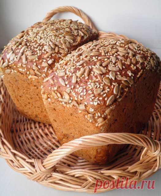 Ржаной хлеб с хлопьями и семенами - СОЛНЕЧНЫЙ ПЕКАРЬ — LiveJournal