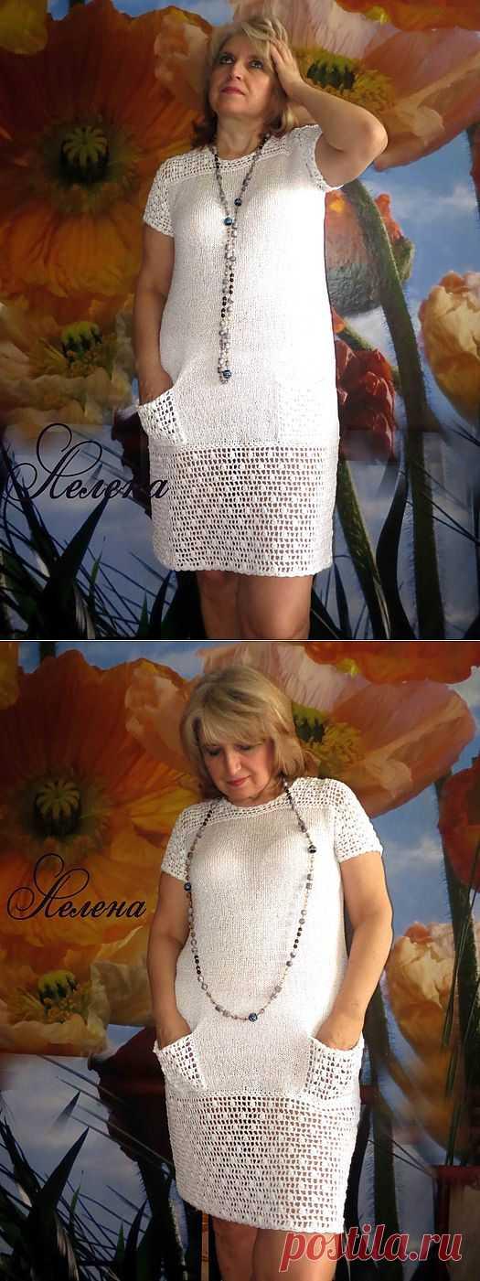 Маленькое БЕЛОЕ платье.