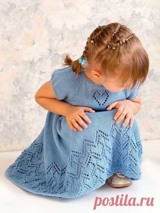 Нарядное вязаное платье для девочек с пышной юбкой Little Helen Joyce