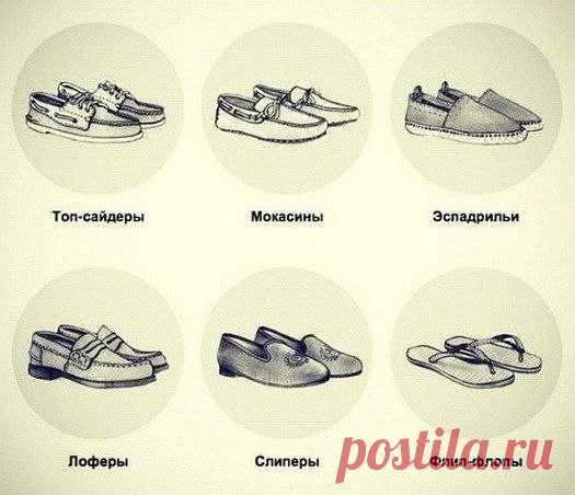 1a28cd340 Учим названия летней обуви — Полезные советы | разное | Постила