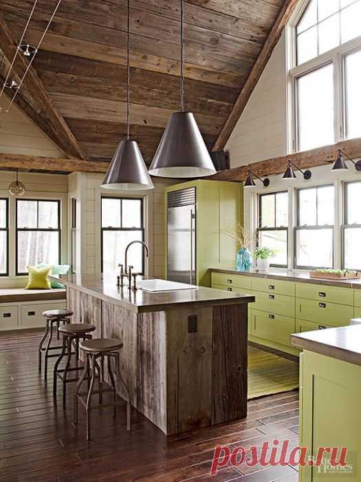 15 Мэджик Методс, чтобы найти идеальный Kitchen Color Scheme - Diy и Ремесла