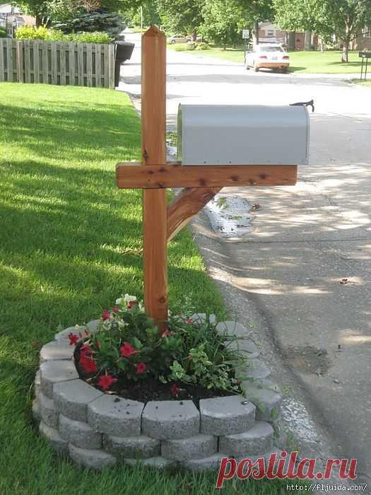 Эстетичный почтовый ящик.