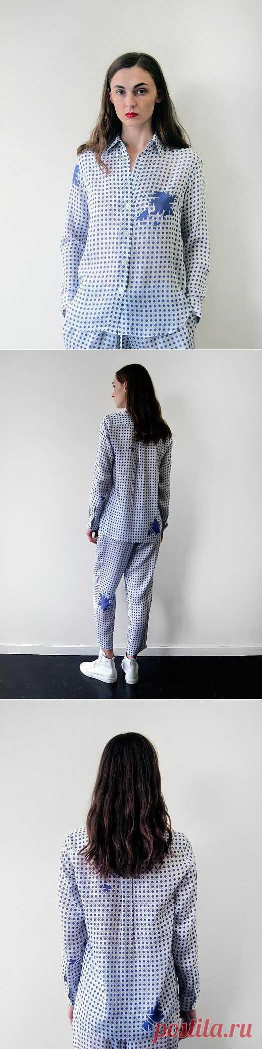 Ветхая пижама / Рисунки и надписи / Модный сайт о стильной переделке одежды и интерьера