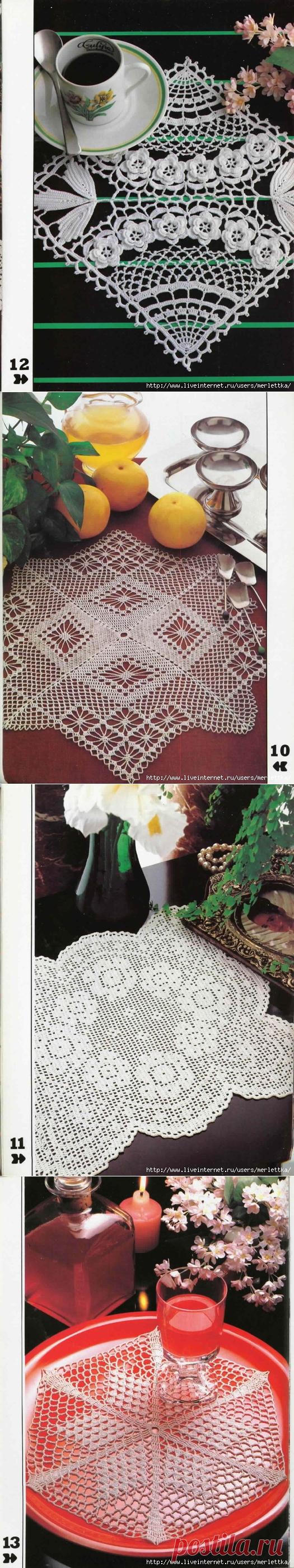 Decorative Crochet 1 / ЖУРНАЛЫ и КНИГИ - самое популярное и интересное