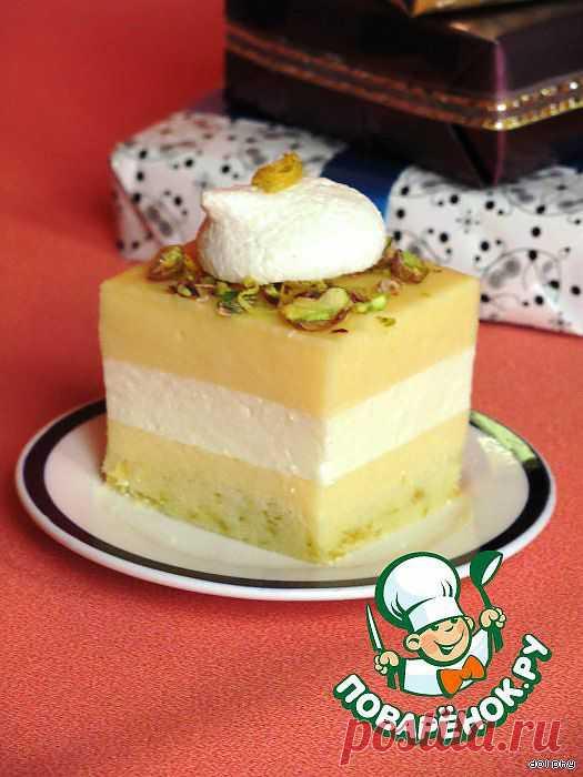 Лимонное пирожное. Автор: dolphy