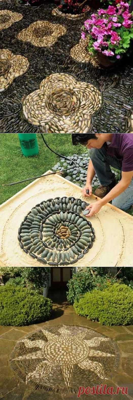 Как сделать мозаику из камня своими руками. Мастер-класс.