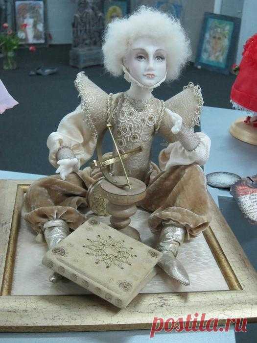"""Куклы с выставки (""""НА ТИШИНКЕ"""")."""