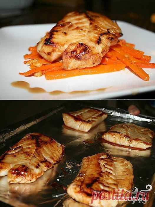 Рецепт приготовления необыкновенно вкусного рыбного блюда.Приятного аппетита!