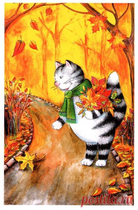 Картинки про, рисунки для осенних открыток