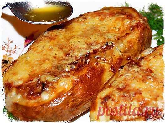 Жюльен в картофеле .