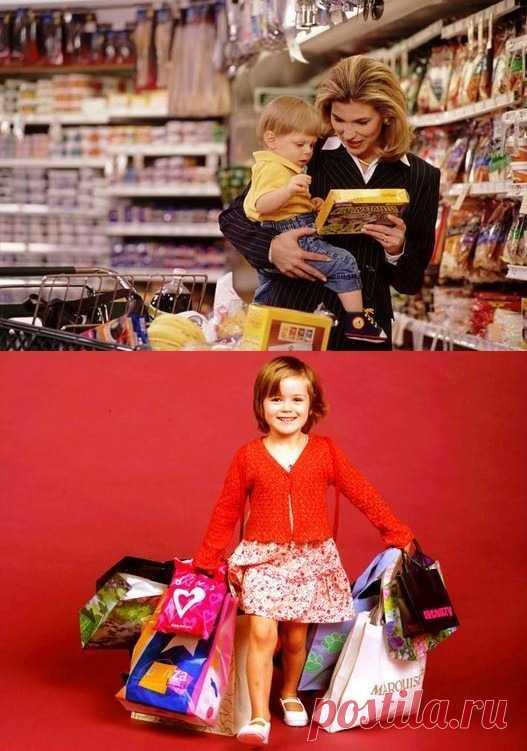 Что делать с детскими «Купи!» – отличная статья по ссылке