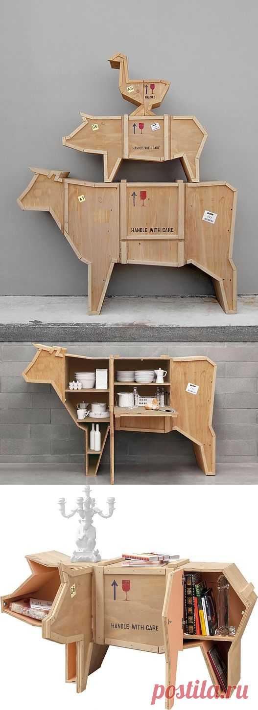 Оригинальная дизайнерская мебель для дачи.