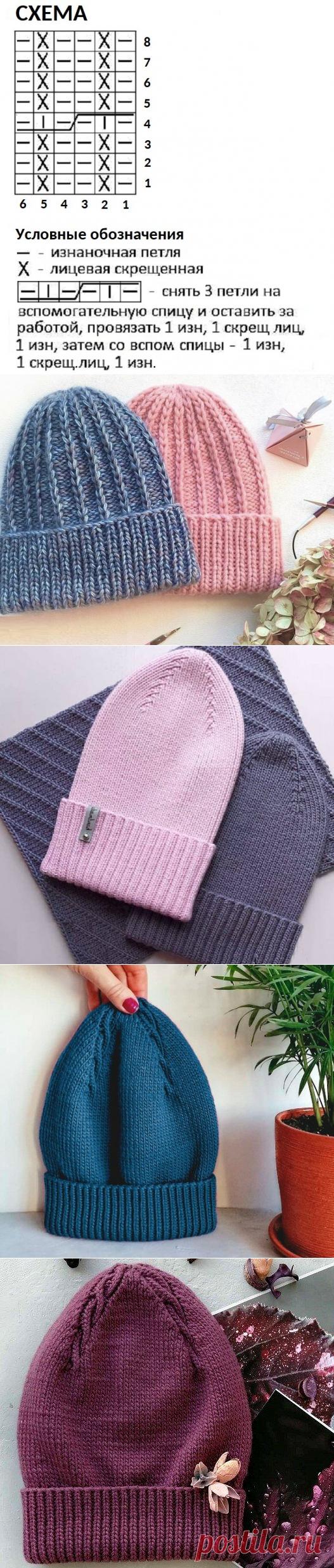 3 модные шапки, которые вы легко сможете связать сами (с описанием)   Идеи рукоделия   Яндекс Дзен