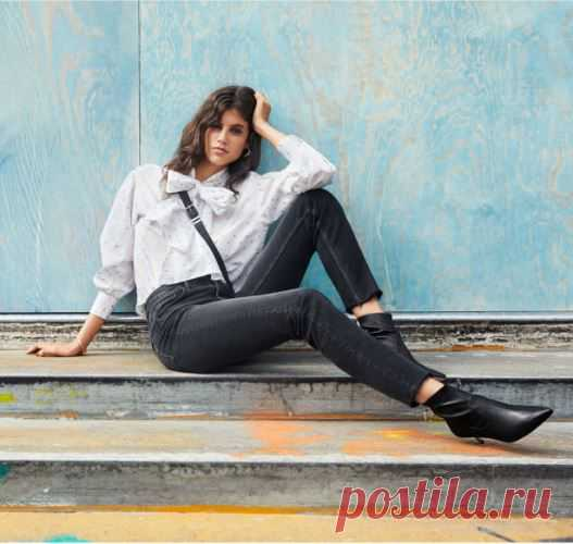 Straight High Ankle Jeans | H&M | КупиОбзор