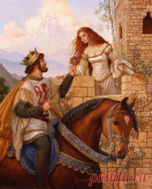 Как женщине вдохновлять мужчину на подвиги. Что такого особенного делала принцесса?