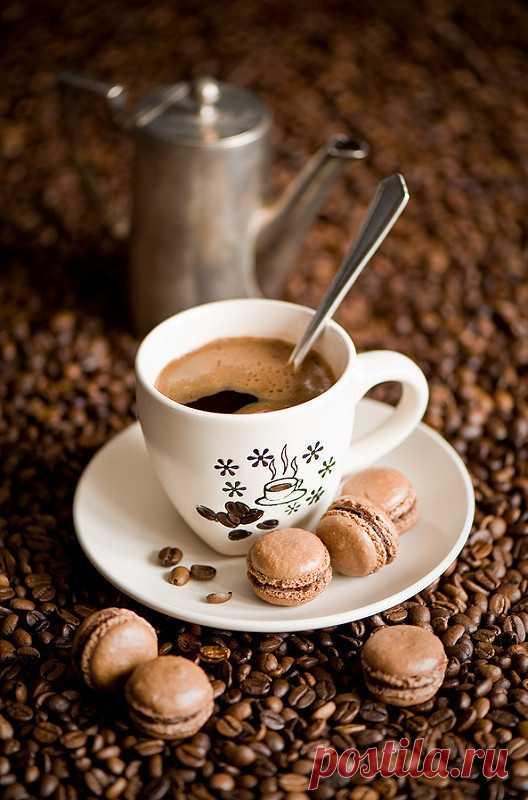 В жизни, как в чашечке кофе, есть и сладость сахара, и горечь гущи. Как ни фильтруй, ни процеживай, без нее кофе не кофе... (Эльчин Сафарли) С Добрым утром,Милые мои! А ведь иногда, чтобы почувствовать себя счастливым, достаточно всего -навсего чашечки горячего, ароматного кофе в компании собственных мыслей… Угощайтесь: Кофе-карамель  __________________ Ингредиенты: Сахар — 1/4 чашки Вода (горячая) — 3/4 чашки Шоколад (горячий) — 1,5 чашки Кофе (свежесваренный) — 2 чашки  ...
