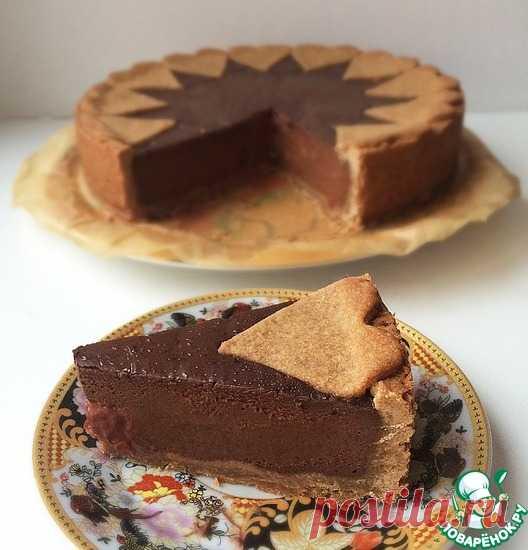 Шоколадный пирог с шоколадным крем-муссом Кулинарный рецепт