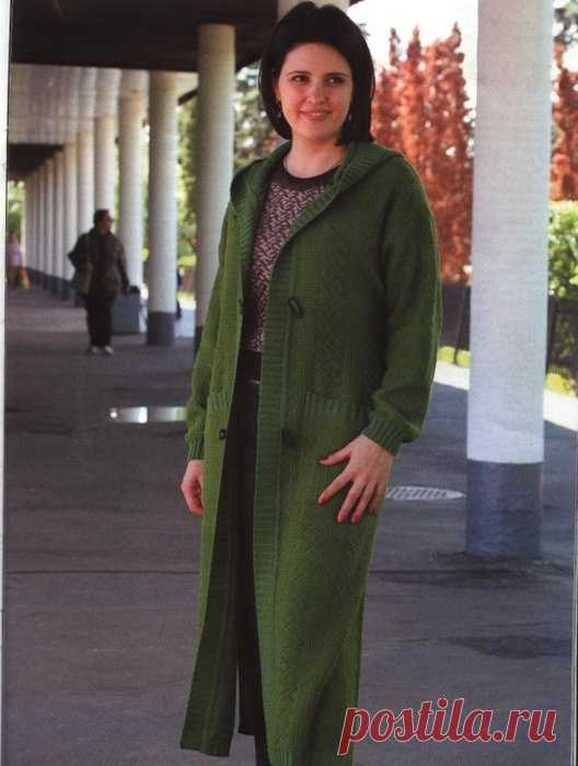 своим достижением вязаное пальто на вязальной машине фото всего
