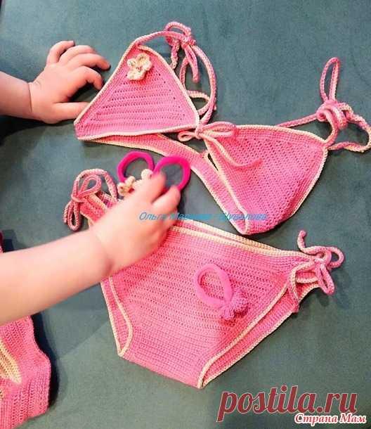 Купальник внучке - Вязание для детей - Страна Мам
