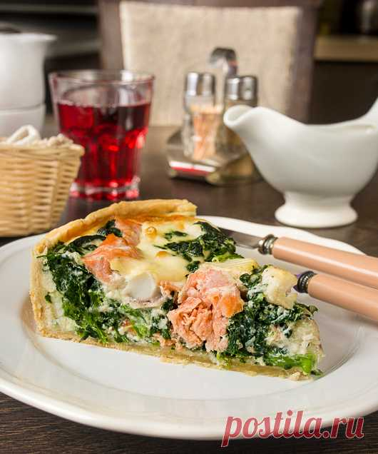 Открытый пирог с красной и белой рыбой - Вкусный блог - рецепты под настроение