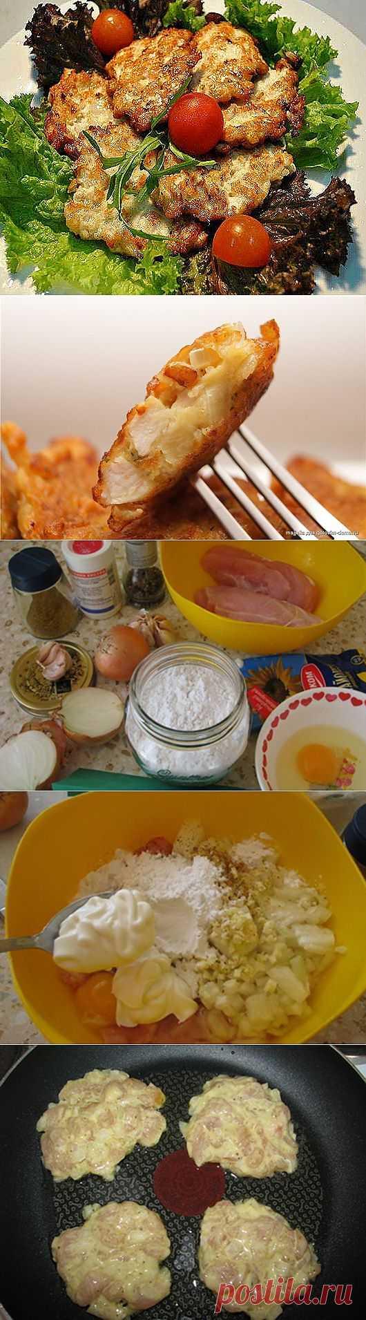 Рецепт на выходной: Куриные оладьи   SOFTMIXER